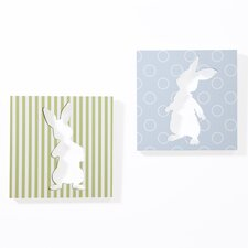 Peter Rabbit 2 Piece Wall Décor