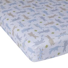 Peter Rabbit Fitted Crib Sheet