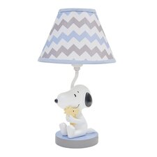 My Little Snoopy Table Lamp with Empire Shade