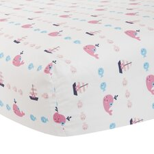 Splish Splash Fitted Crib Sheet