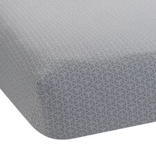 Ryan Print Fitted Crib Sheet