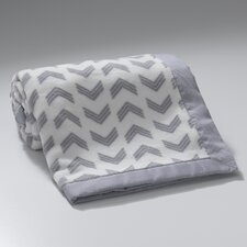 Jensen Arrow Coral Fleece Blanket
