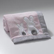 Bunny Appliqued Blanket