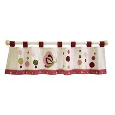 "Raspberry Swirl 59.5"" Curtain Valance"