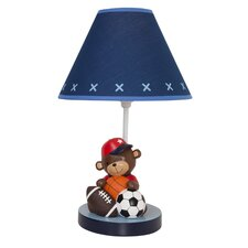 """Future All Star 16"""" H Table Lamp with Drum Shade"""