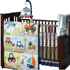 Little Traveler 7 Piece Crib Bedding Set