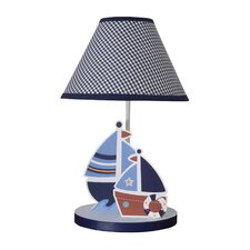 "Sail Away 12"" H Table Lamp with Empire Shade"