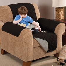 Home Solutions Reversible Chair Furniture Slipcover