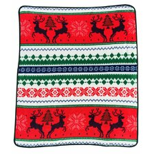 Ugly Christmas Throw Blanket
