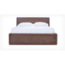Burrows Panel Bed with Wood Slats