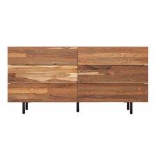 Reclaimed Teak 6 Drawer Dresser