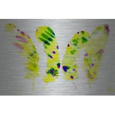 Painted Feathers Painting Print