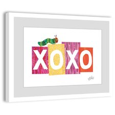 Caterpillar XOXO 2 Framed Painting Print