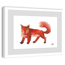Red Fox 2 Framed Painting Print