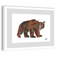 Big Brown Bear 2 Framed Painting Print