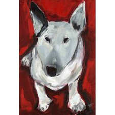 T Dog by Tori Campisi Painting Print on Wrapped Canvas