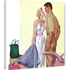 Bad Woman by Al Buell Painting Print on Wrapped Canvas