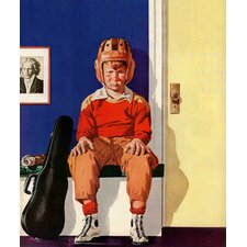 Musical Sport by Lonie Bee Painting Print on Wrapped Canvas