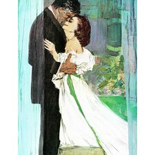 Vintage Fashion An Echo of Love by Joe De Mers Painting Print on Wrapped Canvas