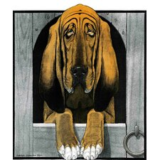 Journal Dog 2 Graphic Art on Wrapped Canvas