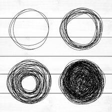 Quad Circles Graphic Art