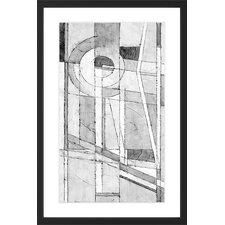 Hidden Circle Framed Graphic Art