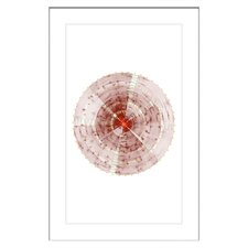 Perfect Circle Framed Graphic Art