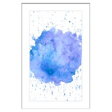 Paint Explosion Framed Graphic Art