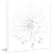 Frost Flower Painting Print on Wrapped Canvas