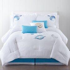 Ocean Shells 7 Piece Comforter Set