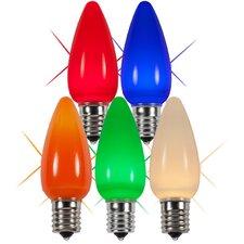 Twinkle Smooth LED Christmas Light Bulb (Set of 25)
