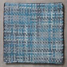 Teppich Wooldots in Aqua