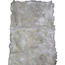 Wohnteppich New Highland in Weiß