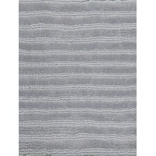 Wohnteppich Square Silky in Silber