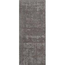 Wohnteppich Vintage Silky in Silber