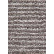 Wohnteppich Square Silky in Grau
