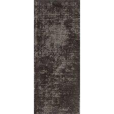 Wohnteppich Vintage Silky in Braun