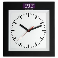 Bathroom Scale with Clock