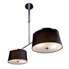 Leila 8 Light Drum Pendant