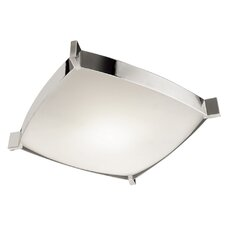 Linea 4 Light Flush Mount