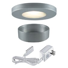 Slim Disk Halogen Straight Edged Kit