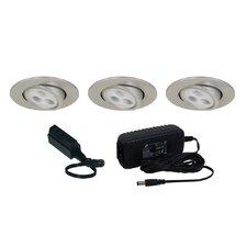 Slim Disk LED Adjustable Round Kit