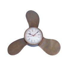 "Decorative Ships Propeller 18"" Clock"
