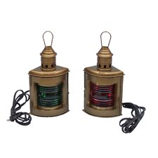 Port and Starboard Electric Lantern (Set of 2)
