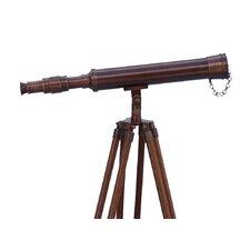 Floor Standing Bronzed Harbor Master Telescope