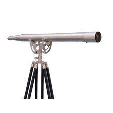 Floor Standing Brushed Nickel Anchormaster Telescope