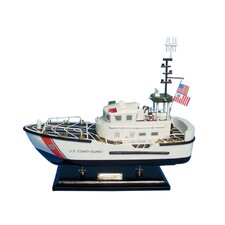 """16"""" Wooden United States Coast Guard 47 Foot Motor Lifeboat"""