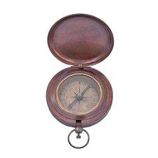 Captains Push Button Compass Sculptures