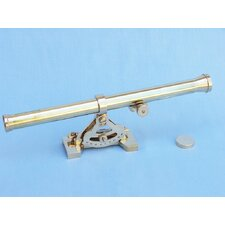 Alidade Decorative Telescope