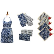 PCT 9 Piece Apron Set